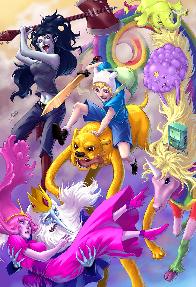 The Constant Awesome Of Adventure Time Madman Entertainment