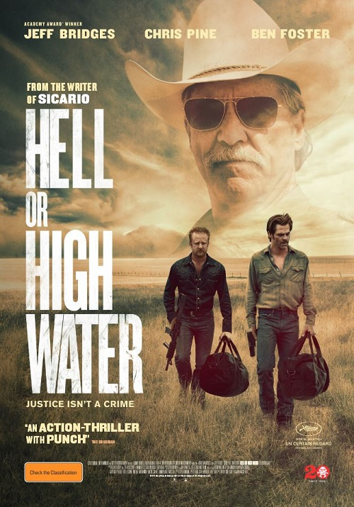 Image result for hell or high water movie poster