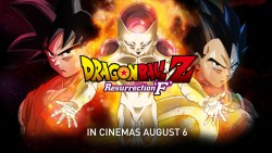 Dragon Ball Z: Resurrection 'F' – Tickets On-Sale Now