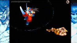 Goku Takes on the World of Street Fighter 2