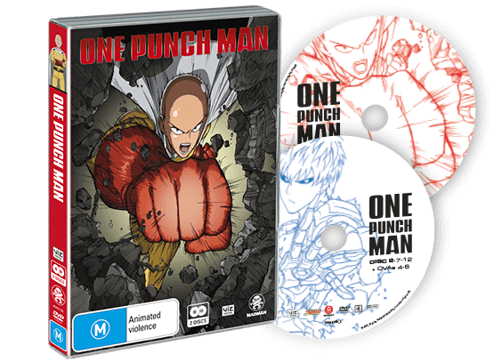 One Punch Man - Available to Own Now - Madman Entertainment